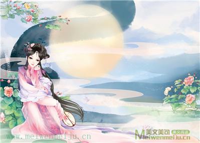 七律:花月吟【连珠体】(和神话君)——文/芳草思思